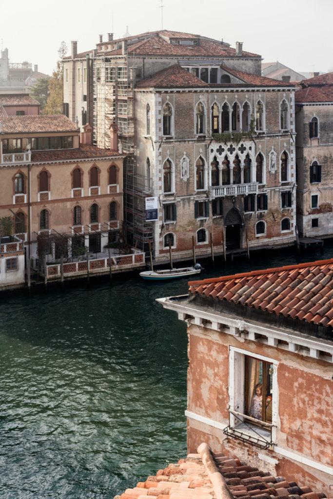 Pajamas, San Marco, Venice, October 2017
